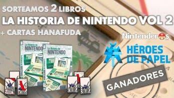 Ganadores de los dos libros 'La Historia de Nintendo Vol. 2' + cartas Hanafuda