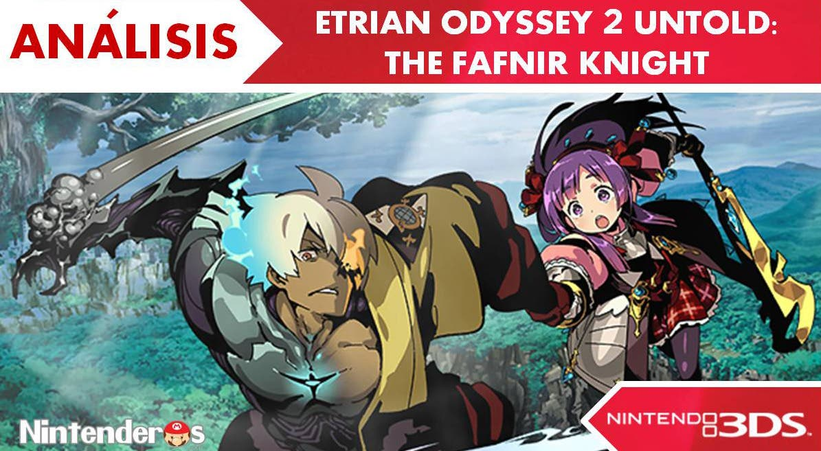 [Análisis] 'Etrian Odyssey 2 Untold: The Fafnir Knight'