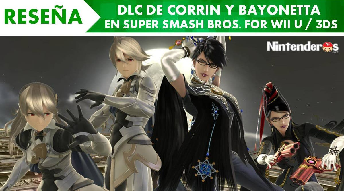[Reseña] DLC de Corrin y Bayonetta en 'Super Smash Bros. for Wii U / 3DS'