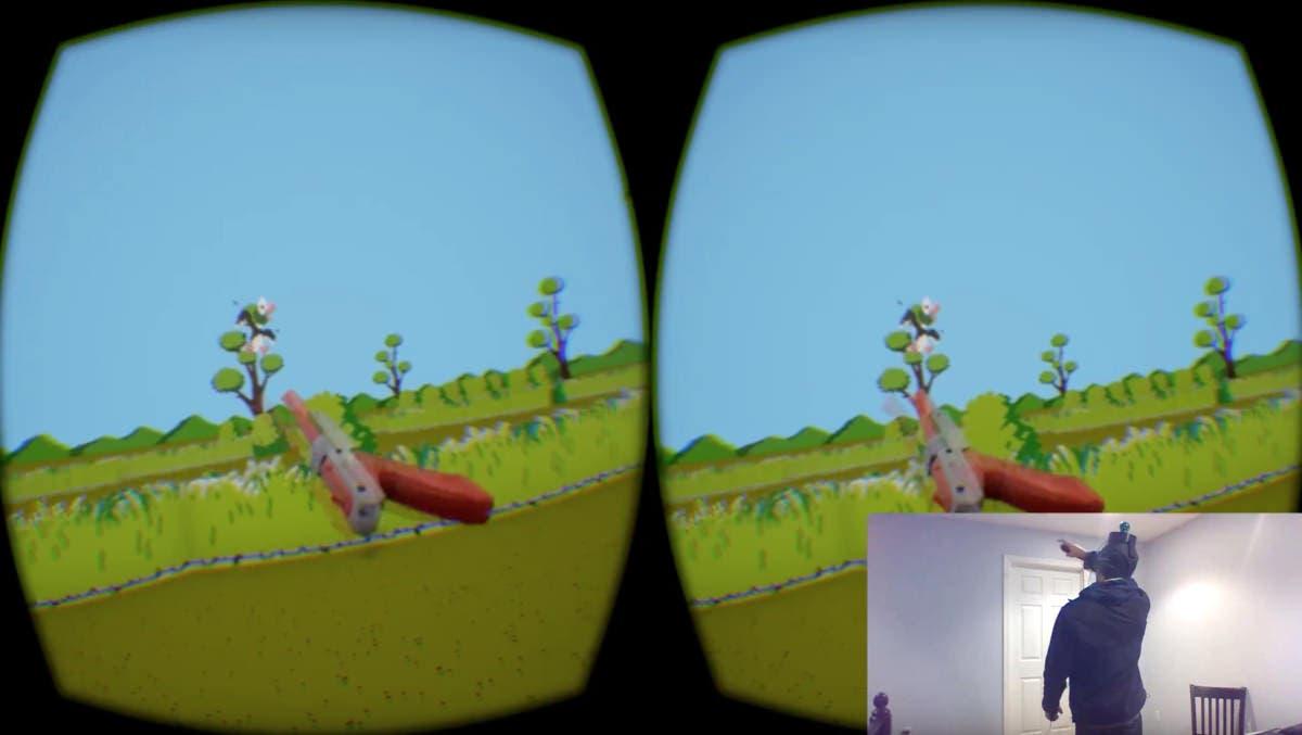 Un fan recrea 'Duck Hunt' usando Realidad Virtual