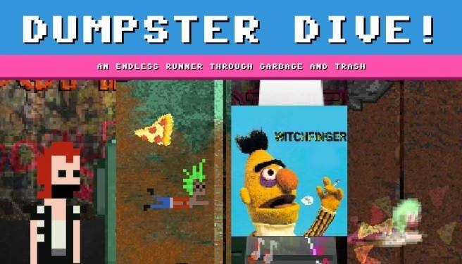 'Dumpster Dive!' llegará a Wii U y 3DS