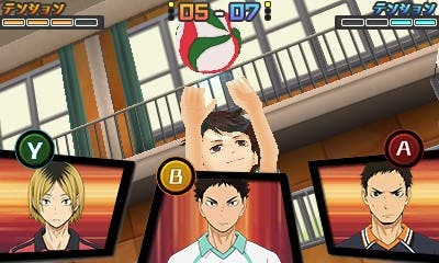 Publicado un gameplay de la demo de 'Haikyuu!!: Cross Team Match'