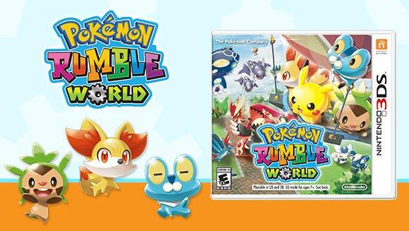 La versión física de 'Pokémon Rumble World' también llegará a Norteamérica