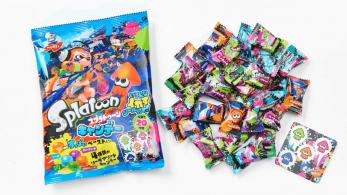 Caramelos con pegatinas de 'Splatoon' disponibles próximamente en Japón