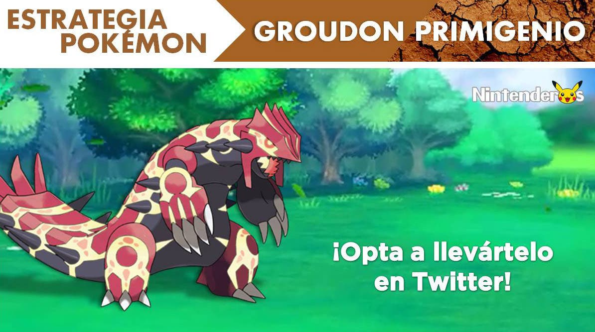 [Estrategia Pokémon] Groudon Primigenio