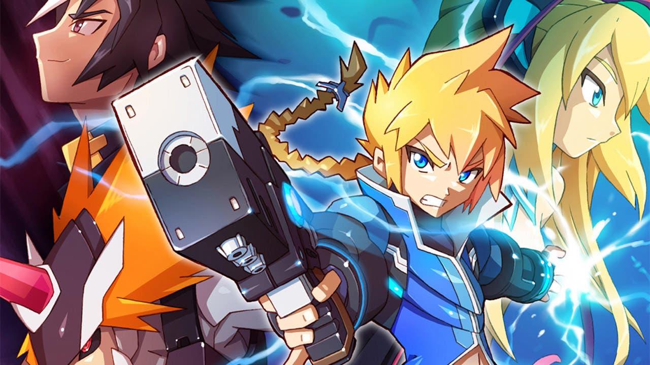 Nueva ronda de detalles sobre 'Azure Striker Gunvolt 2'