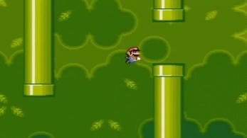 Insertan 'Flappy Bird' en SNES ejecutándolo con 'Super Mario World'