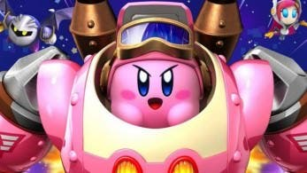 Kirby no se arruga en este gameplay de 'Kirby: Planet Robobot'