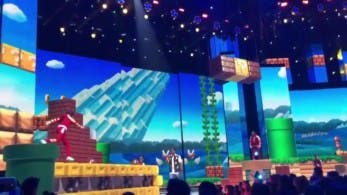 Recrean un nivel de Super Mario a tamaño real en los Kids Choice Awards