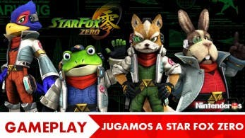 [Gameplay] 'Star Fox Zero' en español en NintenderosTV
