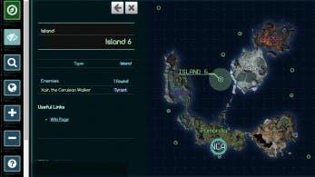 Sobrevuela Mira con este mapa interactivo online de 'Xenoblade Chronicles X'