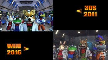 Echa un vistazo a esta comparativa 'Star Fox 64 3D' vs. 'Star Fox Zero'