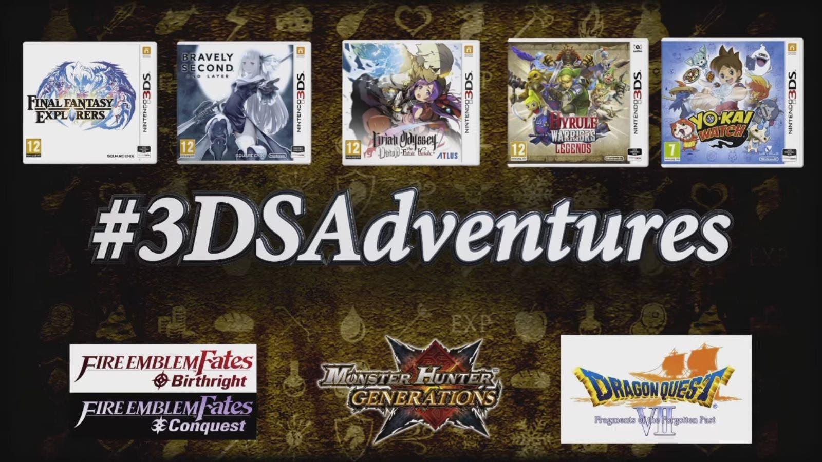 Nintendo UK habla sobre la campaña #3DSAdventures