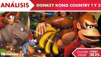 [Análisis] 'Donkey Kong Country 1 y 2' (CV de New 3DS)