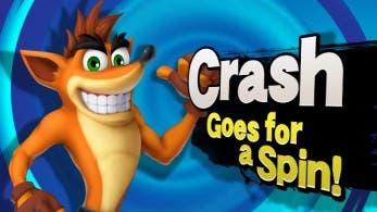 Así sería Crash Bandicoot en 'Super Smash Bros.'