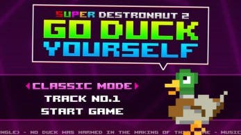 Gameplay de 'Super Destronaut 2: Go Duck Yourself'