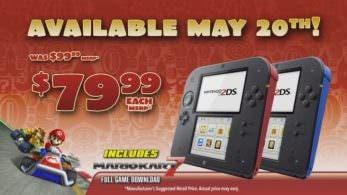 2DS baja de precio en Norteamérica: $80 + 'Mario Kart 7'