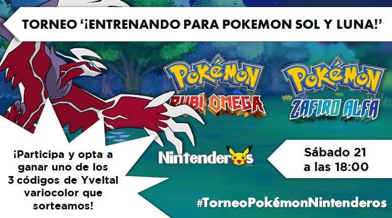 Torneo Pokémon RO/ZA | Entrenando para 'Pokémon Sol & Luna'