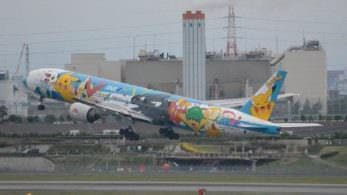 El último avión de 'Pokémon' ya no sobrevolará más los cielos nipones