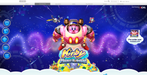 Kirby planet robobot website