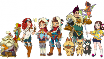 Monster Hunter Stories serie anime