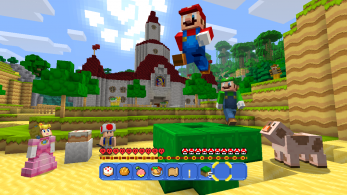 [Act] Ya disponible el 'Super Mario Mash-Up Pack' en 'Minecraft: Wii U Edition', nuevo gameplay