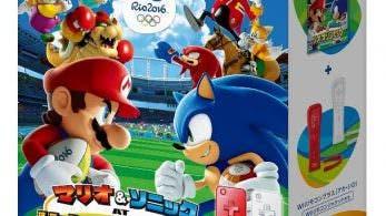 Se anuncia un pack de 'Mario y Sonic en los Juegos Olímpicos: Río 2016' Wii U para Japón