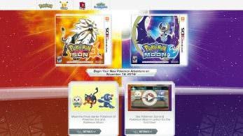 'Pokémon Sol y Luna' ya tiene su sitio web oficial