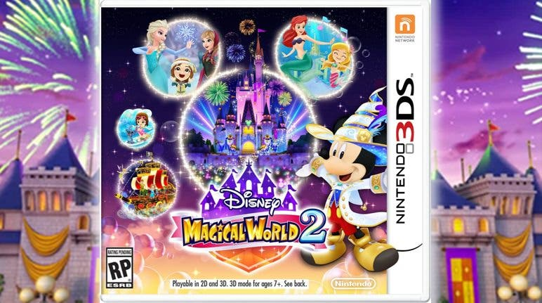 Así luce el boxart americano de 'Disney Magical World 2'