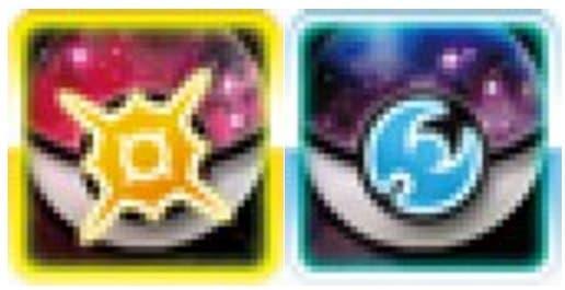Así lucen los iconos del menú de 'Pokémon Sol y Luna'