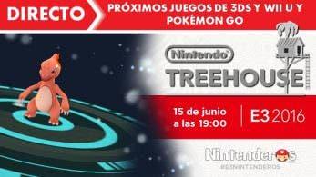 ¡Sigue aquí el Nintendo Treehouse de próximos juegos de Wii U y 3DS y 'Pokémon GO'!