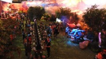 El stand de Nintendo en el E3 cuenta con un ciclo día-noche, ruidos, diferentes olores y más