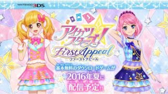 Tráiler de 'Aikatsu Stars! First Appeal'