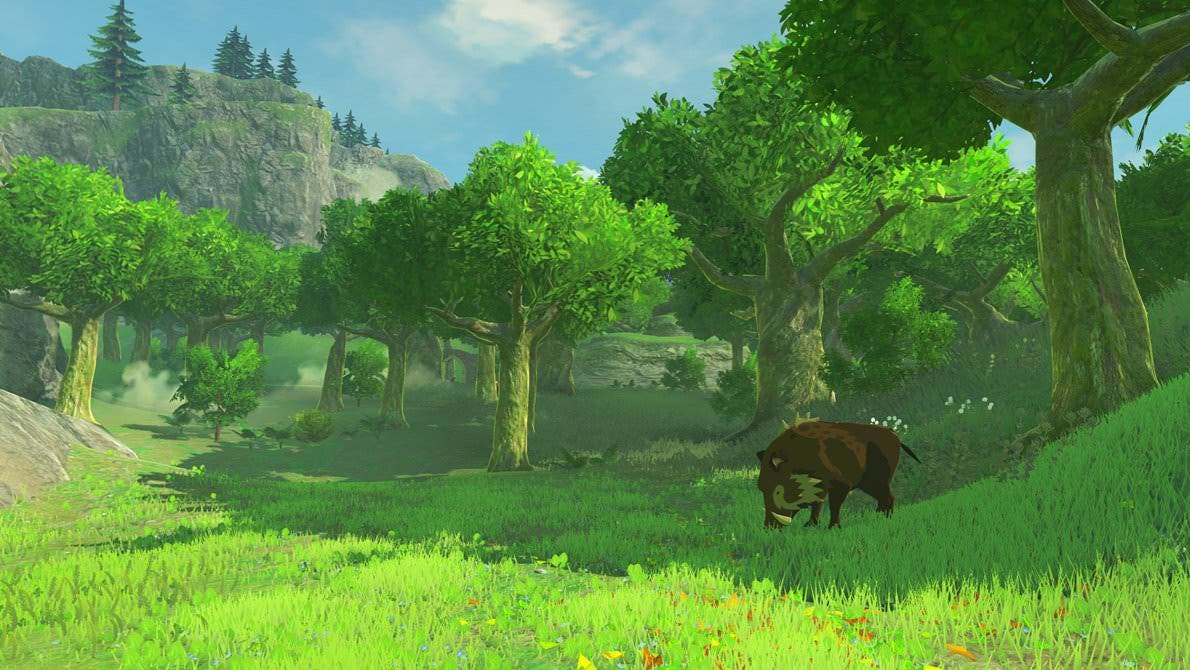 'Zelda: Breath of the Wild' tendrá diferencias gráficas en NX