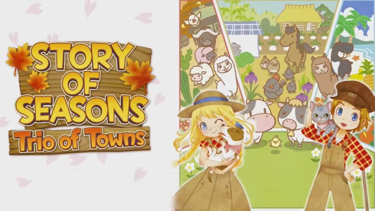 El Dr. Ford llega a 'Story of Seasons: Trio of Towns'