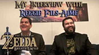 Echa un vistazo a esta divertida entrevista de Reggie Fils-Aime después del E3
