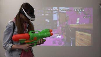 Echad un vistazo a como sería jugar a 'Splatoon' con Realidad Virtual
