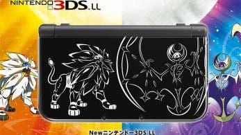 Nuevas ediciones especiales de 3DS, una de ellas basada en 'Pokémon Sol y Luna'