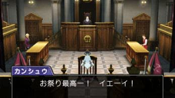 Primeras capturas del DLC de 'Phoenix Wright: Ace Attorney – Spirit of Justice'