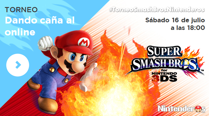 Torneo 'Smash Bros. for 3DS' | Dando caña al online