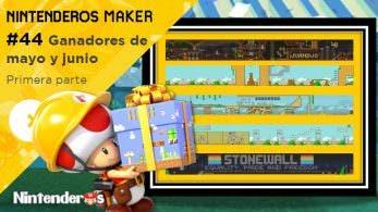 Nintenderos Maker #44: ¡Ganadores de mayo y junio!