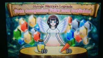 'Hyrule Warriors Legends' recibe nuevos contenidos a través de SpotPass