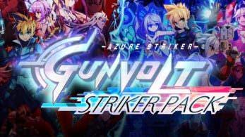 'Azure Striker Gunvolt: Striker Pack' – boxart, información sobre la posible llegada a Europa y más
