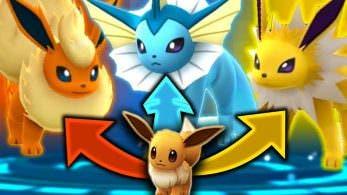 El control de las evoluciones de Eevee se confirma oficialmente para 'Pokémon GO', más Easter Eggs están presentes