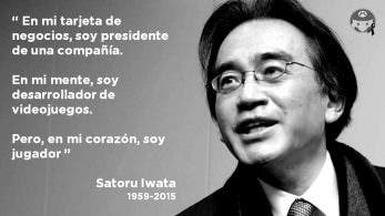 Hoy se cumplen 3 años sin Satoru Iwata