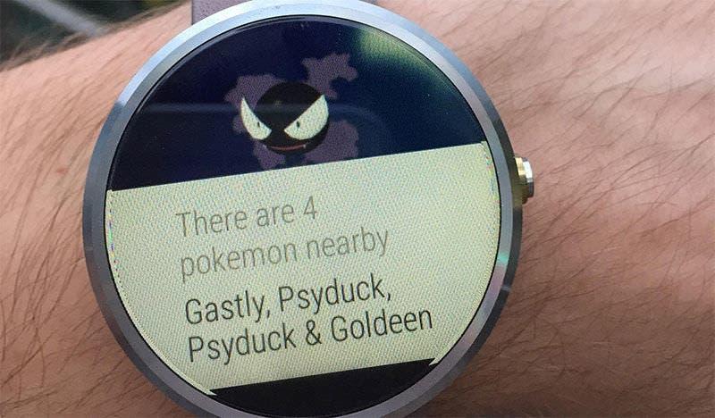 Obtén alertas de 'Pokémon GO' en tu smartwatch Android Wear gracias a PokeDetector