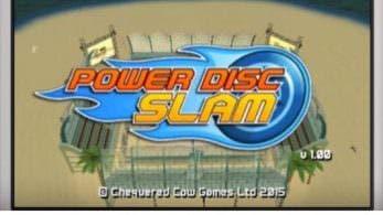 'Power Disc Slam' llegará a la eShop de Nintendo 3DS este verano