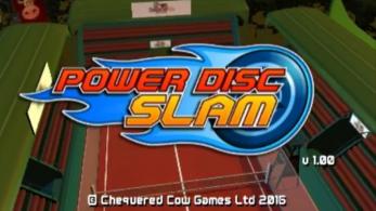 La versión 1.10 de 'Power Disc Slam' llegará el 27 de octubre