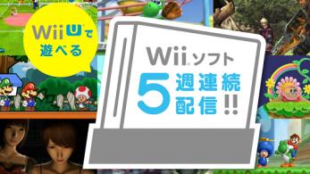 10 juegos de Wii llegarán a la eShop nipona de Wii U con un descuento del 30%