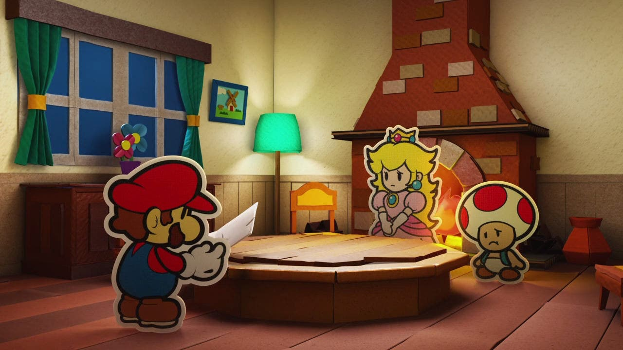 Casi 8 horas de gameplay de 'Paper Mario: Color Splash'
